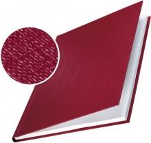 Buchbindemappe Hardcover A4 14mm Leinenüberzug matt bordeaux