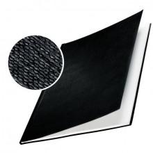 Buchbindemappe Hardcover A4 14mm Leinenüberzug matt schwarz