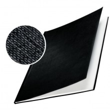 Buchbindemappe Hardcover A4 17,5mm Leinenüberzug matt schwarz