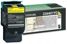 Rückgabe-Tonerkassette gelb für C544,X544