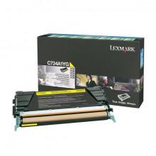 Rückgabe Tonerkassette gelb für C734,C736,X734,X736,X738