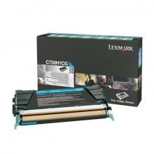 Rückgabe-Tonerkassette cyan für C736,X736,X738
