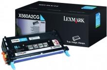 Tonerkassette X560A2CG, cyan für X560dn, X560n