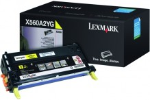 Tonerkassette X560A2YG, yellow für X560dn, X560n