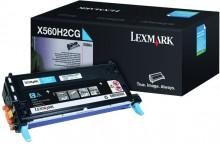 Tonerkassette X560H2CG, cyan für X560dn, X560n