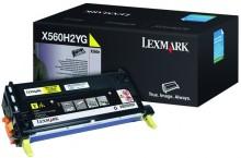 Tonerkassette X560H2YG, yellow für X560dn, X560n
