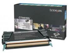 Rückgabe-Tonerkassette schwarz für X746de, 748de, 748dte