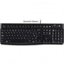 Tastatur K120 schwarz, for Business, kabelgebunden, USB-Anschluss