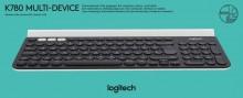 Tastatur K780, schwarz, kabellos