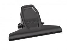 Klemmer Metall 75mm schwarz 2er Klemmweite 20mm SB-Verpackung