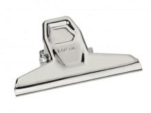 Klemmer Metall 95mm silber 2St Klemmweite 25mm SB-Verpackung