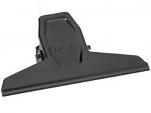 Klemmer Metall 125mm schwarz 2er Klemmweite 30mm SB-Verpackung