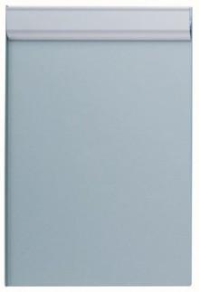 Schreibplatte A4hoch si mit Anschlagkante, Aluminium