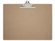 Schreibplatte MAULclassic A3 quer aus Hartfaser-Holz