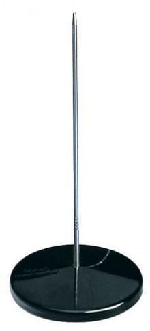 Maul Zettelspieß, schwarz ohne Schutzkopf, Ø8,5xH17cm