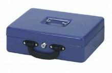 Geldkassette mit Zähleinsatz blau 30x24,5x9,3cm