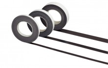 Magnetband selbstklebend L 10 m x B 25 mm x H 1 mm