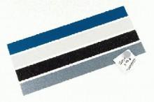 Planhalter Ferroleiste 5/50cm weiß magnetisch, im Polybeutel