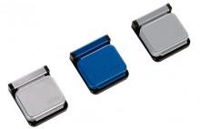 Planhalter Magnetclip S 10St bl Magnetschnapp-Automatik selbstkl