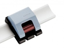 Planhalter Rollenclip V 10St grau Klemmrollenautomatik verschiebbar