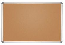 Pinnboard MAULoffice 90/120 gr Kork Alurahmen,Ecken grau