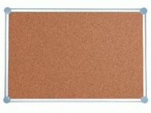 Pinnboard 2000 MAULpro 90/180 gr Kork Alurahmen graue Ecken