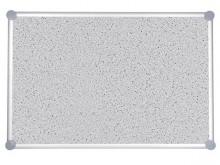 Pinnboard 2000 MAULpro 90/120 gr Textil Alurahmen graue Ecken