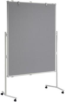 Moderationstafel MAULpro gr 150/120cm Oberfläche Textil gr