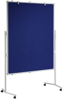 Moderationstafel MAULpro gr 150/120cm Oberfläche Textil bl