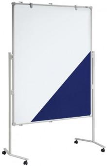 Moderationstafel MAULpro gr 150/120cm Textil bl/WB