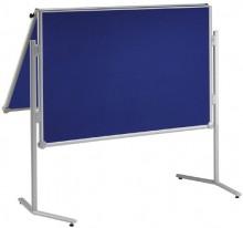 Moderationstafel MAULpro klappb. gr 150/120cm Oberfläche Textil bl