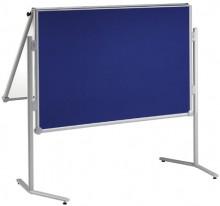 Moderationstafel MAULpro klappb. gr 150/120cm Textil bl/WB