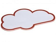 Moderationskarten Wolke weiß 14x23cm 20St.
