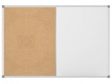 Combiboard MAULstandard grau 90/120cm Kork/WB