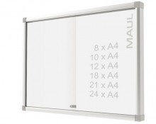 Schaukasten MAULsilde 10xA4 si 67,5x116x5,4cm