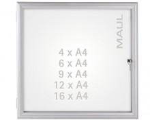 Schaukasten MAULadvanced 9xA4 si 98,9x72,8x3,5cm