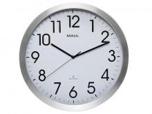 Uhr MAULmove 40RC Funkuhr Wanuhr Aluminium Rahmen Ø 40cm