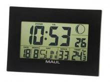Uhr MAULfly 30RC Funkuhr schwarz Wand-/Tischuhr digital