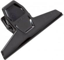 Briefklemmer 95mm breit 25mm Klemmweite schwarz