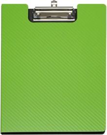 Klemmbrett MAULflexx, A4, hellgrün, aus biegsamem 2-Schicht-Polypropylen