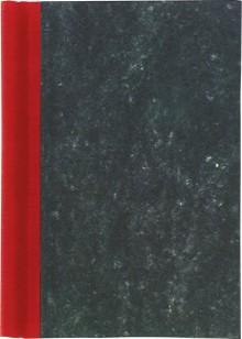 Klemmbinder A4 Rücken rot Füllhöhe 2cm, Deckel marmoriert