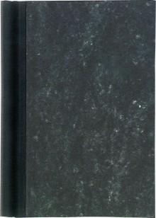 Klemmbinder A4 Rücken schwarz Füllhöhe 2cm, Deckel marmoriert