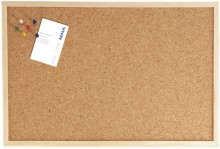 Pinntafel 60x100cm Kork Holzrahmen mit Nadeln