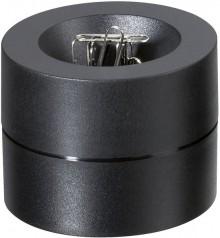 Klammerspender schwarz 3012390 aus bruchsicherem Kunststoff