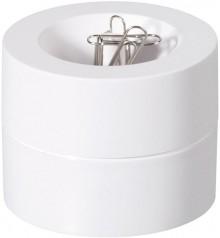 Klammerspender weiss 30123-02 aus bruchsicherem Kunststoff