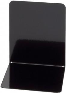 Buchstütze Metall schwarz breit 14x14x13cm, 1 Paar