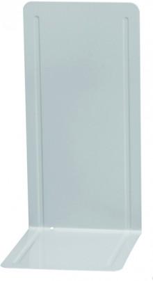 Buchstütze grau Metall 14x12x24cm 1 Paar
