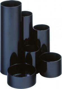 Schreibgeräte Maul Deskbox schwarz 6 Röhren, Höhe: 14,8cm