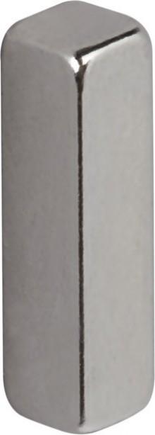 Neodym Stabmagnet 15x4x4 mm 4er Set, Haftkraft 2 kg,