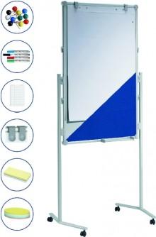 Moderationstafel professional Tafel 120x75cm, 2 Arbeitshöhen